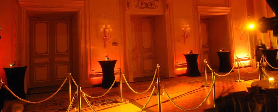 Réceptions, Inaugurations, Lancements de produit, Défilés de mode
